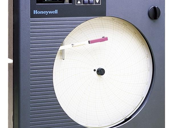 Honeywell dr4300 circular chart recorder pyrometer systems ltd